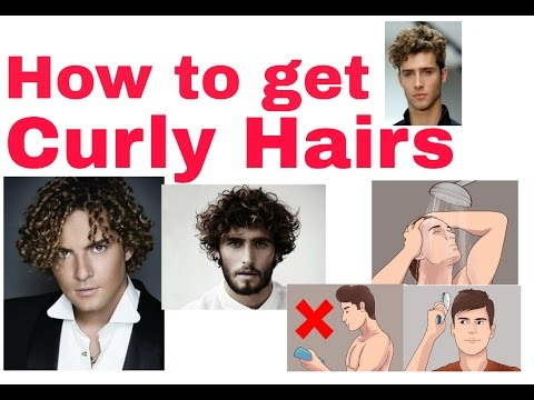 Hindi How To Get Curly Hair Youtube