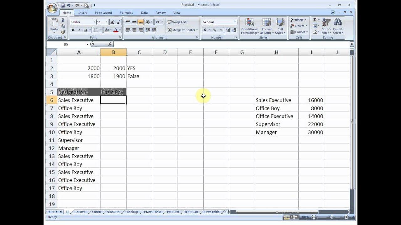 Ms excel 20 formula tutorial pdf   nichebio