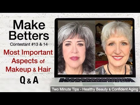 LIVE - MOST IMPORTANT Aspect Of Makeup/Hair + 2 Make-Betters + Q&A