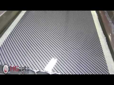 Water Transfer Printing-(Silver Carbon Fiber) | HG Arts Tech