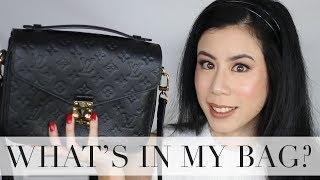 What's in My Bag? ft Louis Vuitton Pochette Metis ~ Fables in Fashion