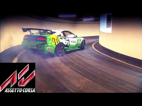 Assetto Corsa Mod Map: Drifting up a parking garage!