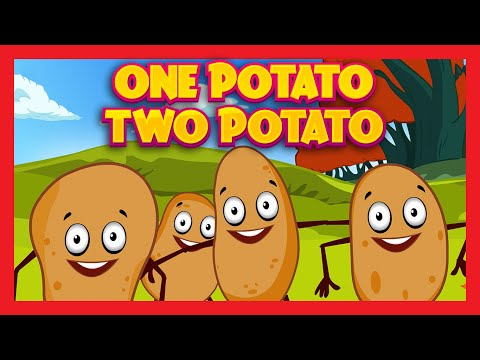 ONE POTATO, TWO POTATO Song for Kids | PATATO SONG | Rhymes For Children - English