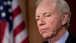 """""""It was a lonely farewell for Joe Lieberman. When the senior senato..."""