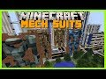 Minecraft - USABLE AND WEARABLE GIANT MECH SUITS!!!(DESTROY WHOLE CITIES WITH YOUR SUIT)