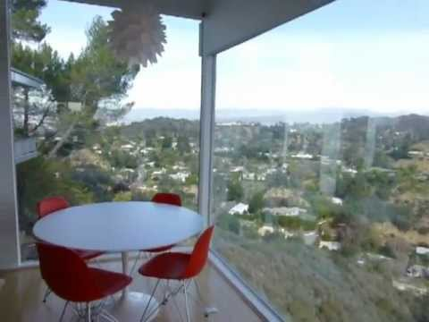 Hollywood Hills Architectural With Panoramic Views of Mountains and City