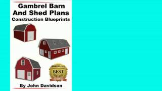Gambrel Barn And Shed Plans Construction Blueprints [kindle