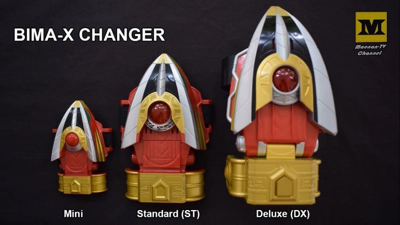 Bima-X Changer Comparison ! (DX, Standard, & Mini Changer ...