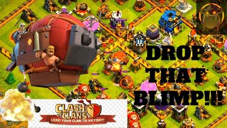 Air Supremacy with Battle Blimp and Clone Spells/ Clash of Clans
