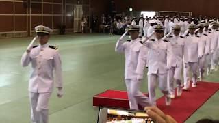 令和元年練習艦隊、いざ乗艦!/ Marching to get aboard the ship! Training Squadron 2019