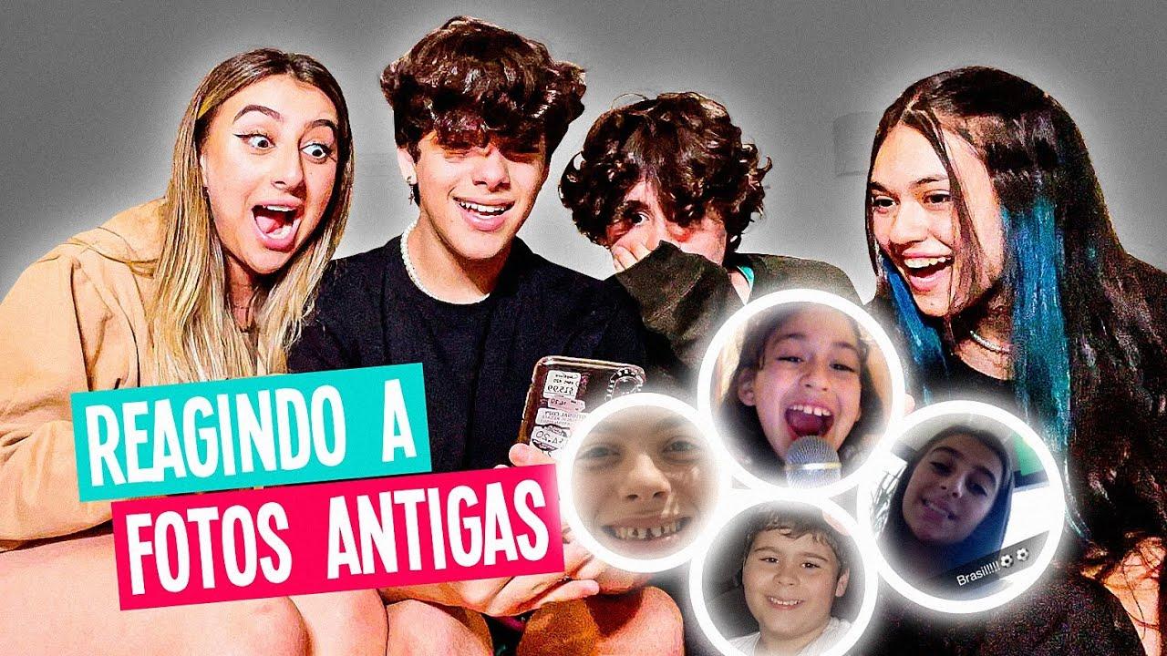 REAGINDO AS NOSSAS FOTOS ANTES DA FAMA!