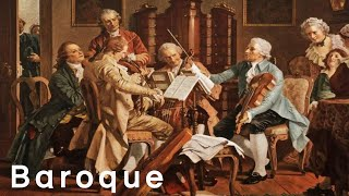 Baroque Music for Studying & Brain Power - Best Relaxing Classical Music For Studying & Learning