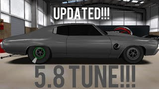 PRO SERIES DRAG RACING 5.8 TUNE!!! (Chevelle SS)