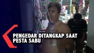 Pengedar Narkoba Ditangkap Saat Pesta Sabu