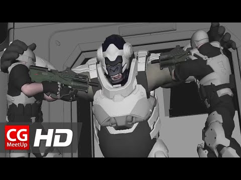 """CGI 3D Breakdown HD: """"Making of Overwatch Animated Short Film"""" by Blizzard Entertainment"""