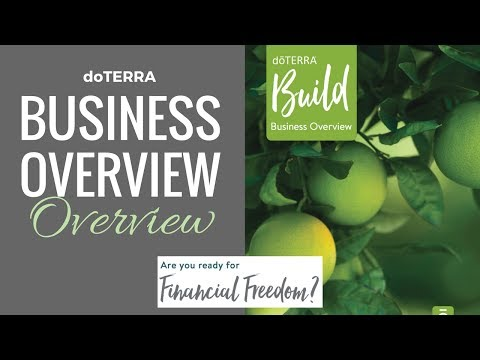 doTERRA Business Overview Overview