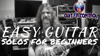 Easy Classic Guitar Solos For Beginners - Lead Guitar Lesson With Darrin Goodman