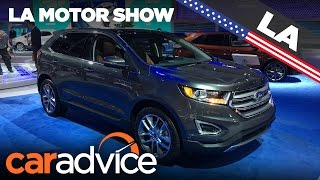 2017 Ford Edge | 2016 Los Angeles Motor Show