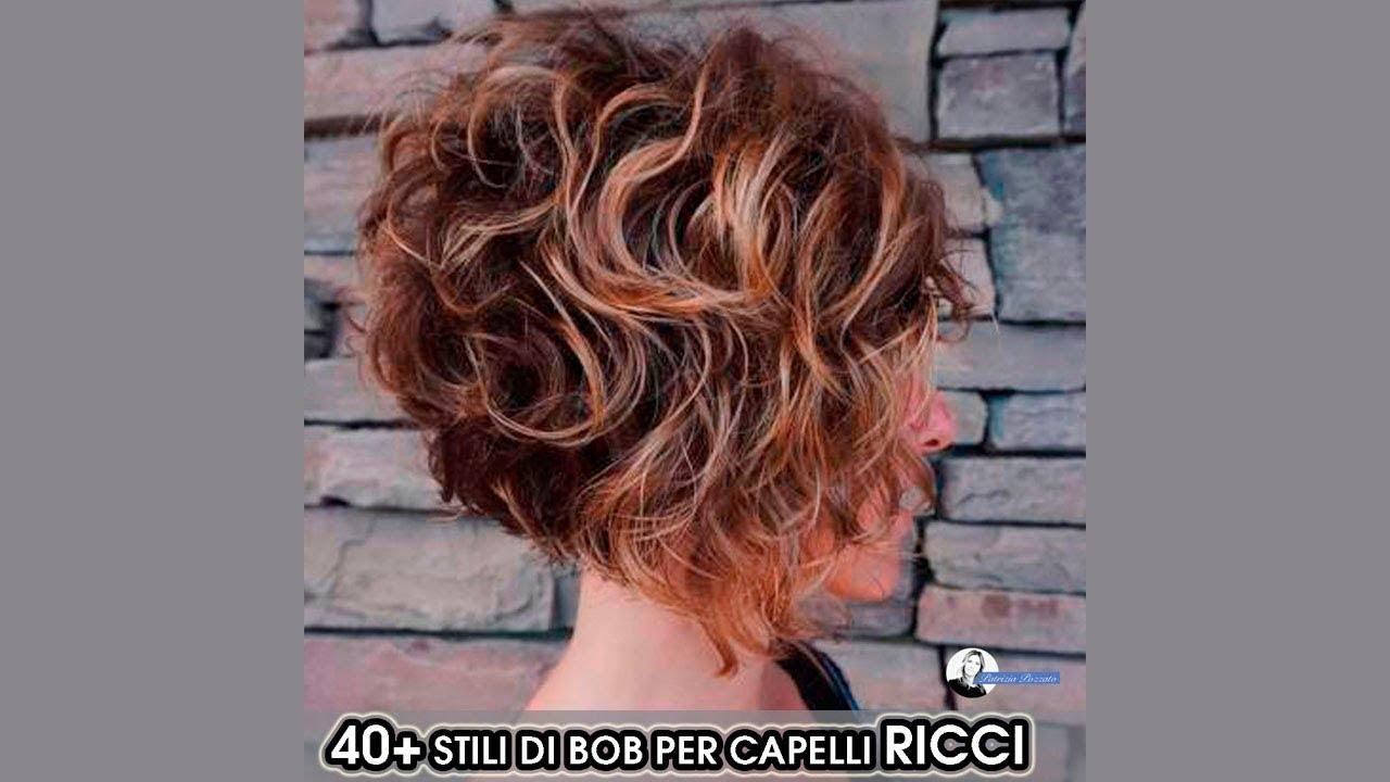 Taglio Bob Riccio 2019 - YouTube