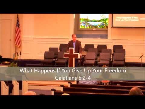 Sunday AM 04/15/18 Sermon Only - Christ Has Set You Free