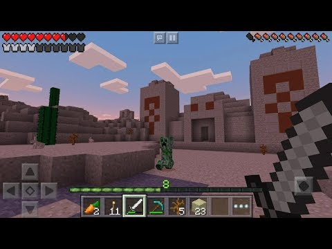 Minecraft Trial Android Gameplay