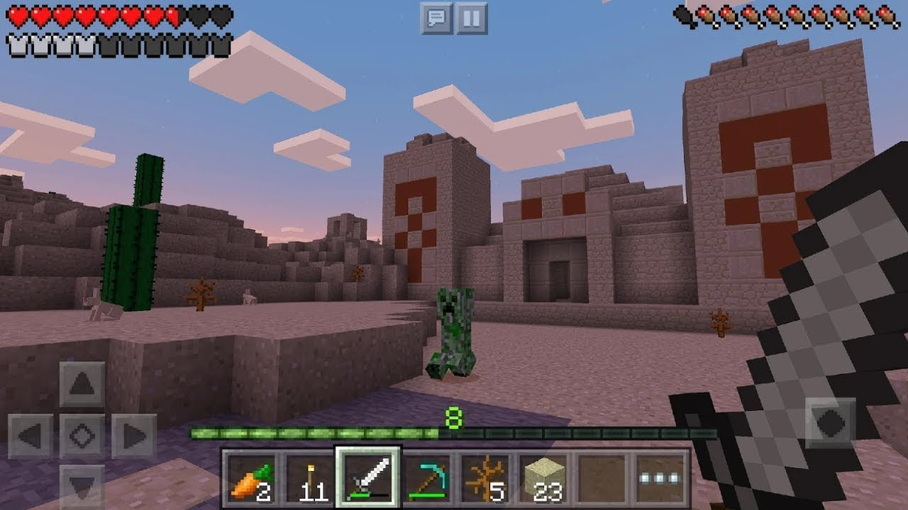 Minecraft Trial Android Gameplay Youtube