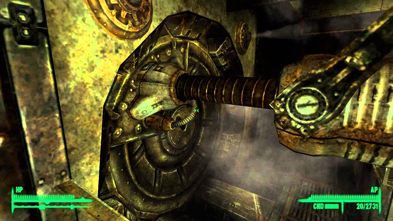 Fallout 3 Vault 87 Access To Door From Inside And
