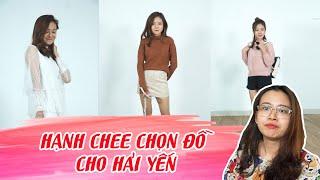 Hạnh Chee biến hóa phong cách cho cô gái bản tin Hải Yến !