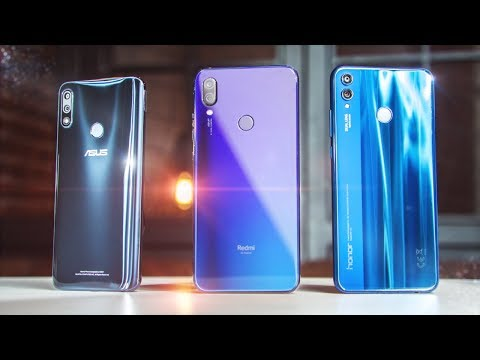 РУБИЛОВО ХИТОВ! Xiaomi Redmi Note 7 vs Honor 8X vs Asus Zenfone Max Pro M2