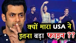 Why Was Salman Khan Fined With A Sue In USA ??