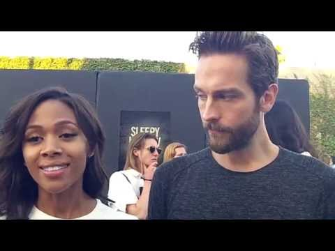 Sleepy Hollow Interview with Nicole Beharie and Tom Mison