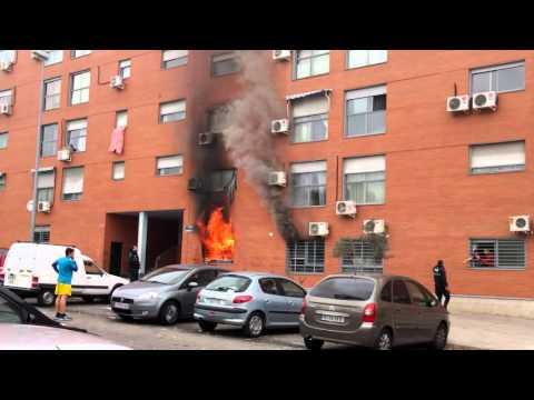 Incendio en San Fernando de Henares
