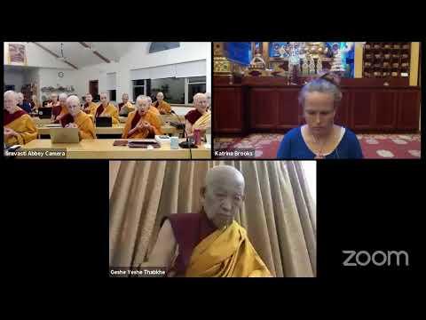 06 Pramanavarttika with Geshe Yeshe Thabkhe: Refuting Elements as the Cause of Defilements 10-09-20