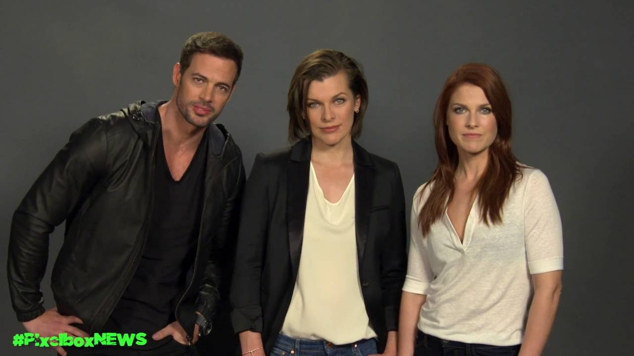 Resident Evil The Final Chapter Cast On Reclaiming