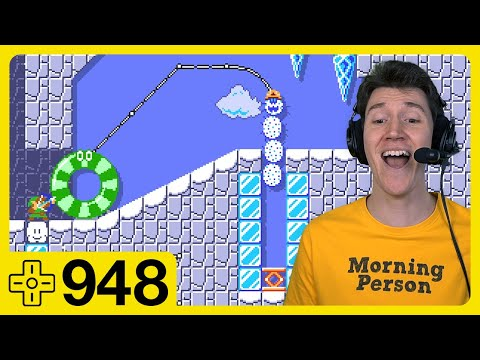 Link's Icey Archery Training! | Morning Mario #948