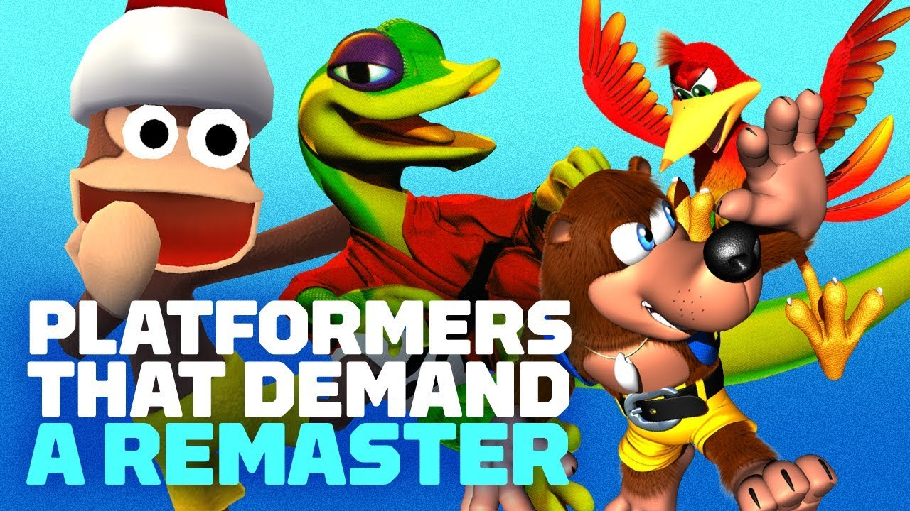 3D Platformers That Demand a Remake