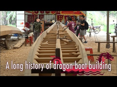 A long history of dragon boat building