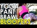 YOGA PANT BRAWL BLOOPERS & OUTTAKES - Sexy Women fighting in Leggings