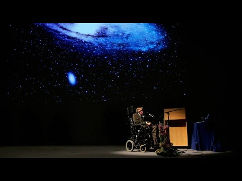 """Gruß von Stephen Hawking: """"Bleiben Sie neugierig!"""""""