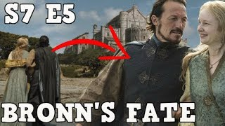 The Fate of Bronn | Game of Thrones Season 7 Episode 5 (Spoilers)
