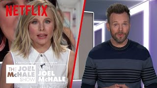 Kristen Bell's Anal Worms | Joel McHale Show | Netflix