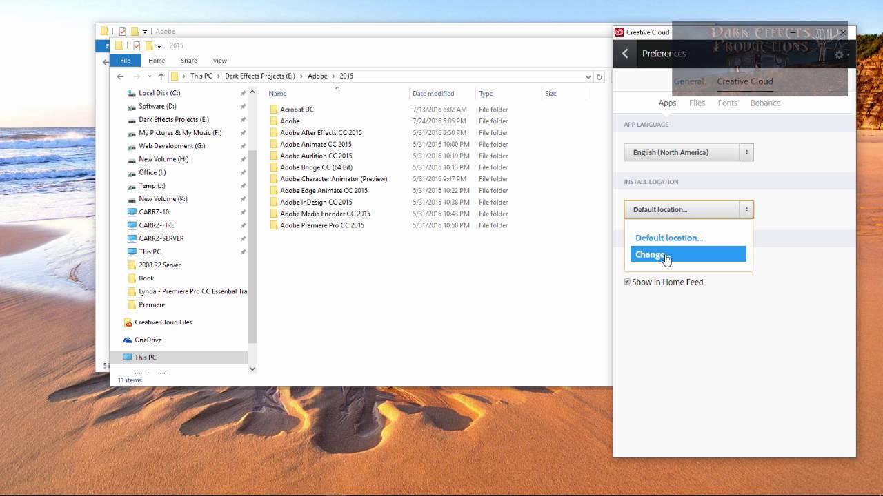 creative cloud desktop app not downloading