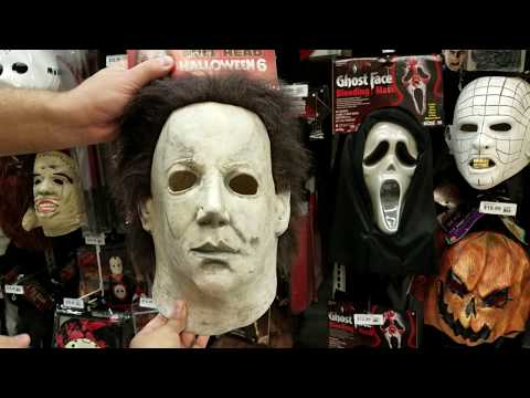 Shop With Me Halloween  Party City Mask 2017