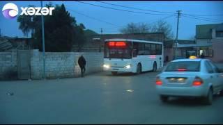 Avtobus sürücüsü sərnişinlərin həyatını belə təhlükəyə atır