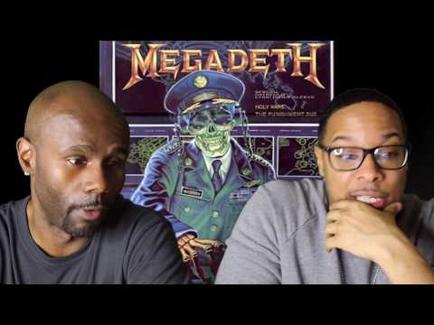 Megadeth - Holy Wars...The Punishment Due (REACTION!!!)