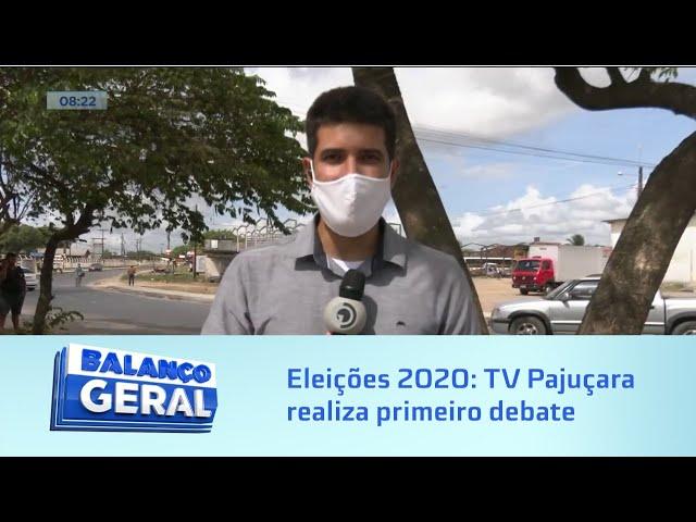 Eleições 2020: TV Pajuçara realiza primeiro debate entre os candidatos Alfredo Gaspar e JHC