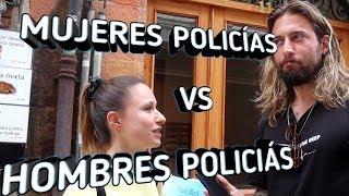 DIFERENCIAS ENTRE MUJERES Y HOMBRES POLICÍAS
