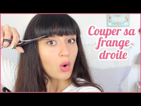 Couper sa frange droite soi m me youtube - Comment couper une frange soi meme ...