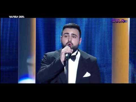 X-Factor4 Armenia Abraham Khublaryan - Andrea Bocelli Melodramma (gala 6) 12.03.2017