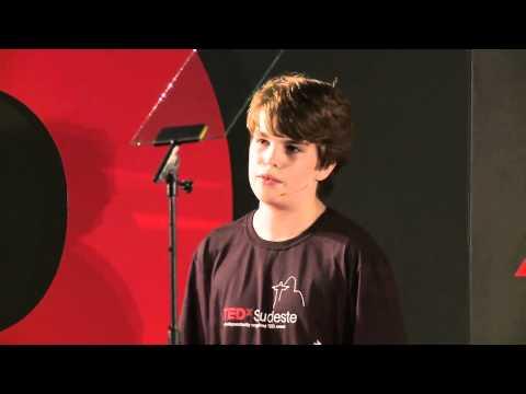 Curiosidade, pouca idade e vontade que vencem barreiras: Pedro Franceschi at TEDxSudeste